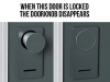 door-doorknob-disappears-lock
